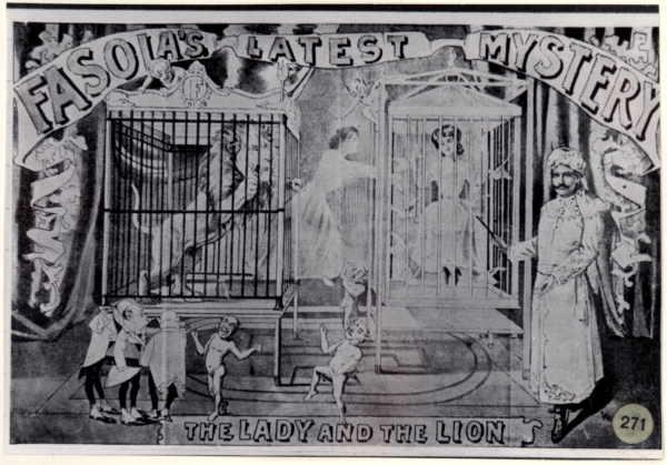 Gustave Fasola Lion to Lady